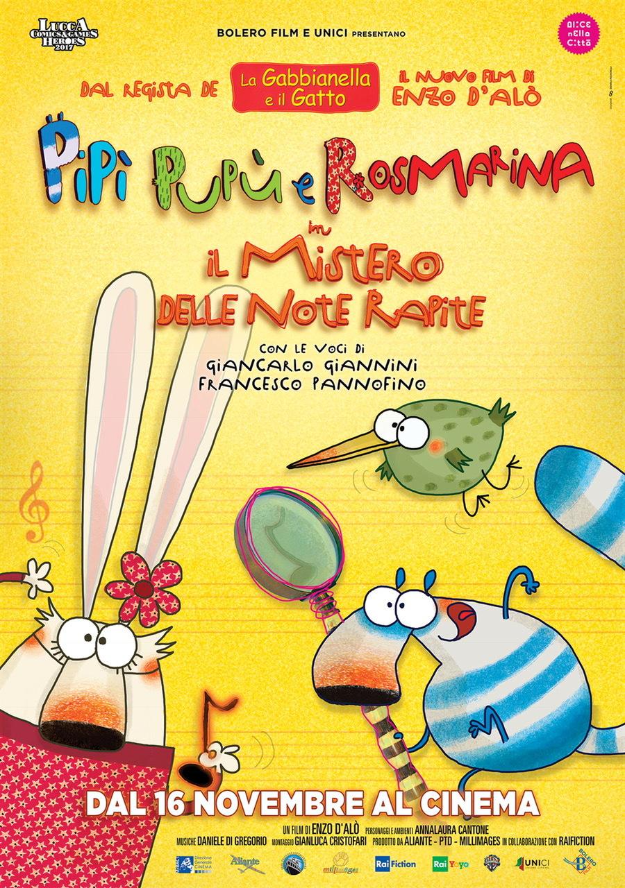 Pipì, Pupù e Rosmarina in Il mistero delle note rapite