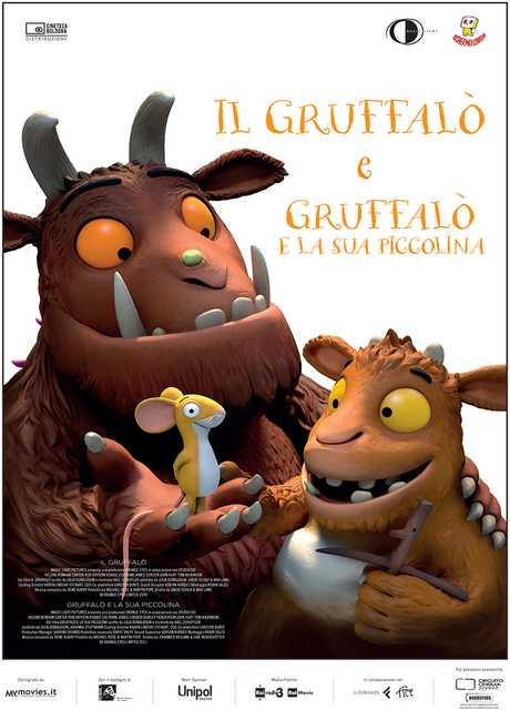Il Gruffalò & Gruffalò e la sua Piccolina