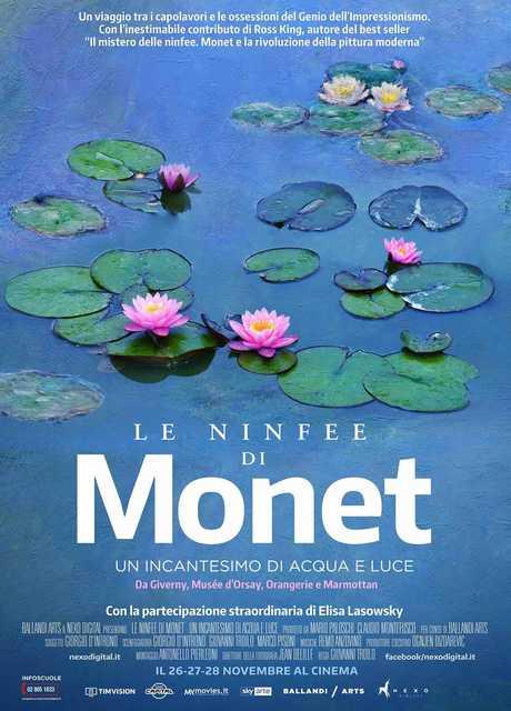 Le ninfee di Monet. Un incantesimo di acqua e di luce