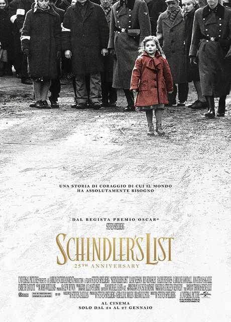Schindler's List 25th Anniversary