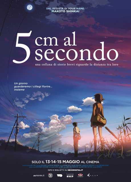5cm al secondo