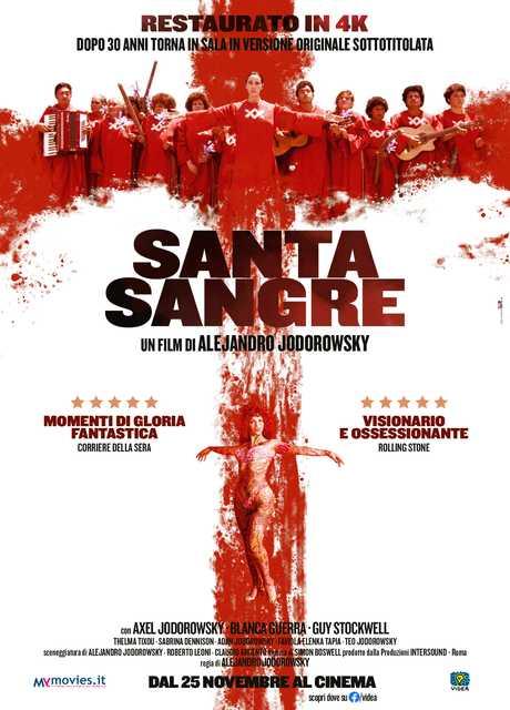 Santa sangre (Riedizione)