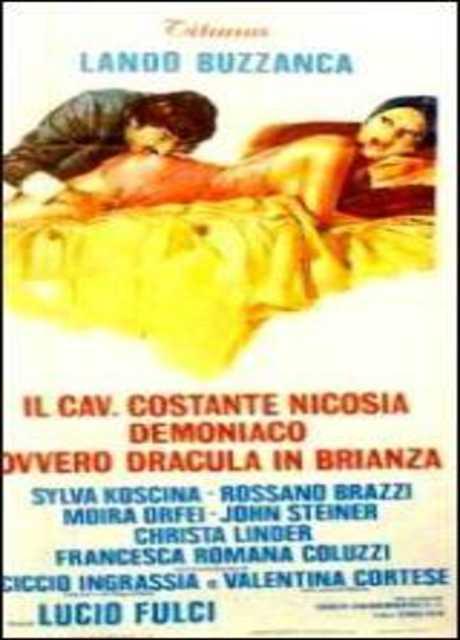 Il cav. Costante Nicosia demoniaco ovvero: Dracula in Brianza