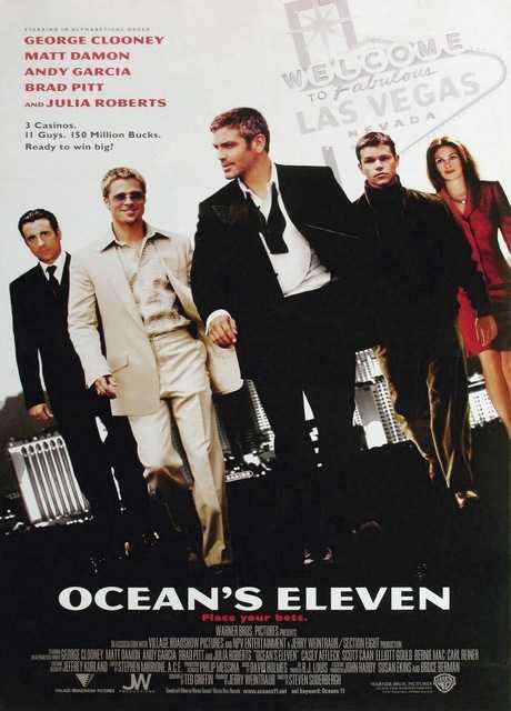 Ocean's Eleven- Fate il vostro gioco