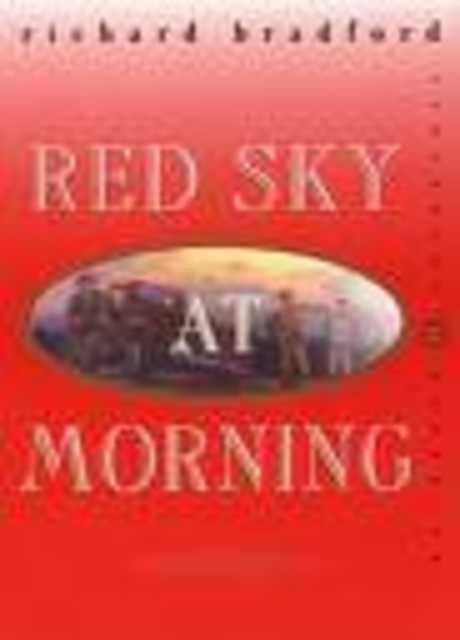 Cielo rosso all'alba