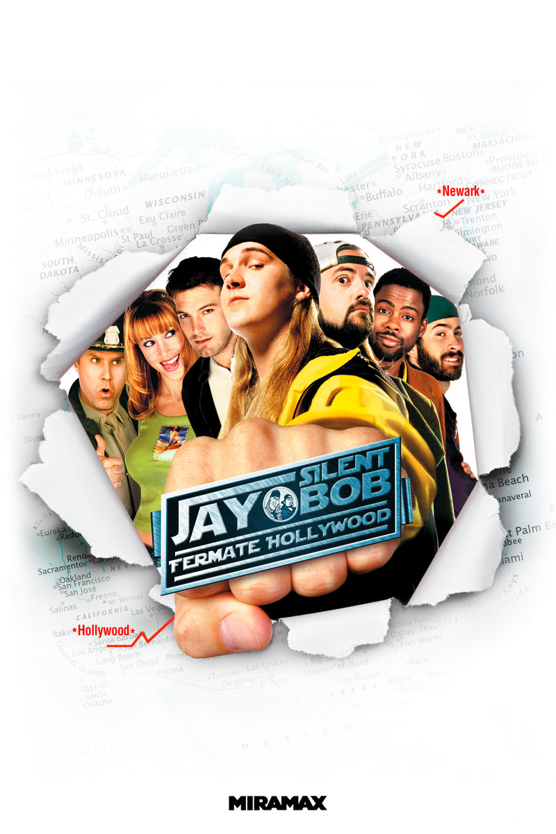 Jay and Silent Bob... fermate Hollywood