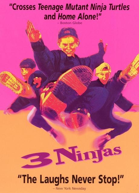 3 Ragazzi Ninja (3 Ninjas)