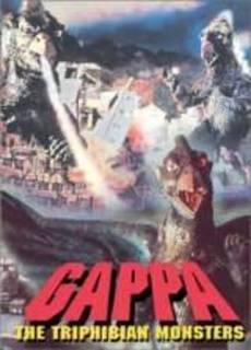 Gappa il mostro che minaccia il mondo