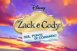 Zack e Cody sul ponte di comando
