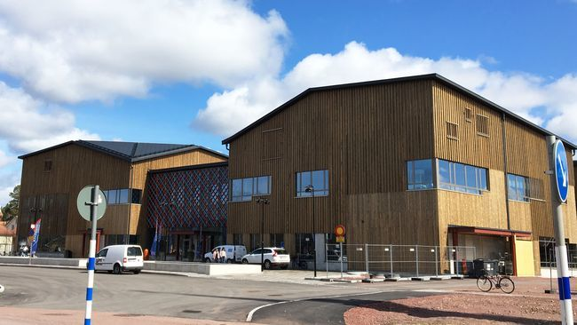 Skola invigd i Älvdalen