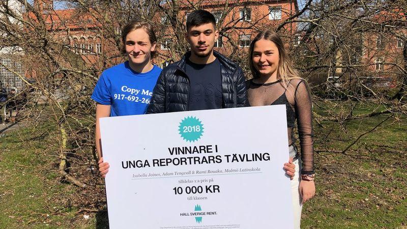 Malmö Latinskola vinnare!