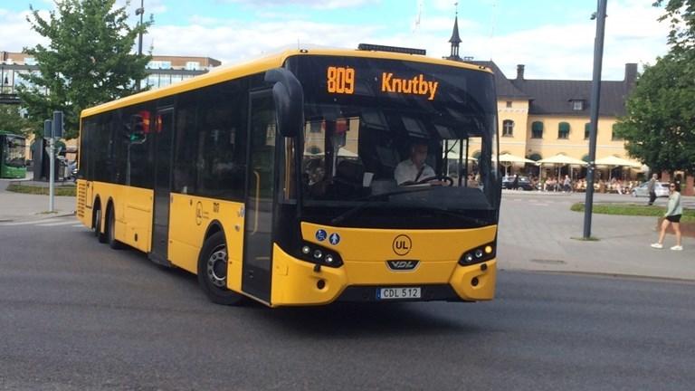 Gratis kollektivtrafik för skolungdomar i sommar