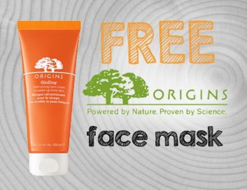 FREE GinZing Face Mask Sample.