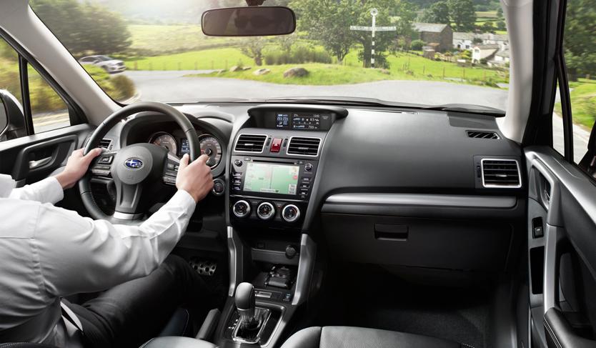 Subaru Forester - Design og teknologi