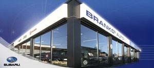 Fasade: Brankos Auto AS