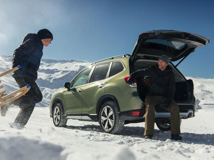 Subaru Forester Hybrid - Hybrid og firehjulstrekk 4X4