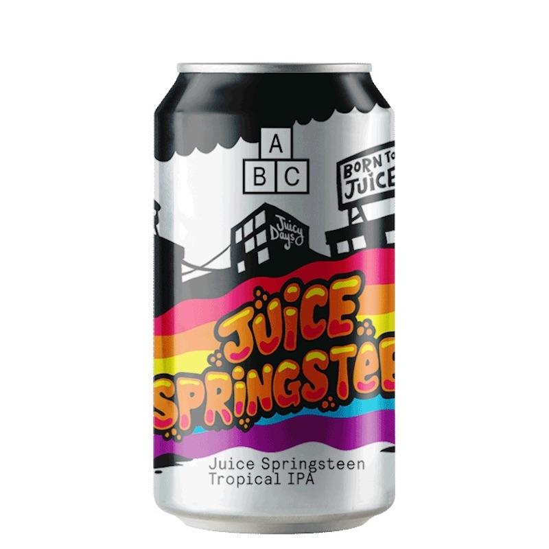 Bière Juice Springsteen - Brasserie Alphabet Brewing