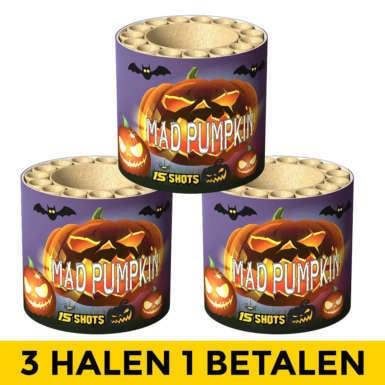 Mad Pumpkin 3=1 NIEUW
