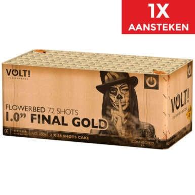 """1.0"""" Final Gold NIEUW"""