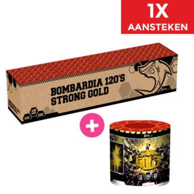 Bombardia + Stong Gold NIEUW