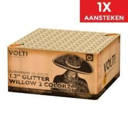 "1.2"" Glitter Willow 2 Colorz NIEUW"