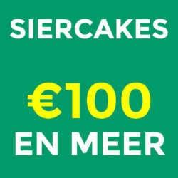 siercakes €100 en meer