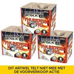 Thunderblock 8 NIEUW 3 halen 1 betalen