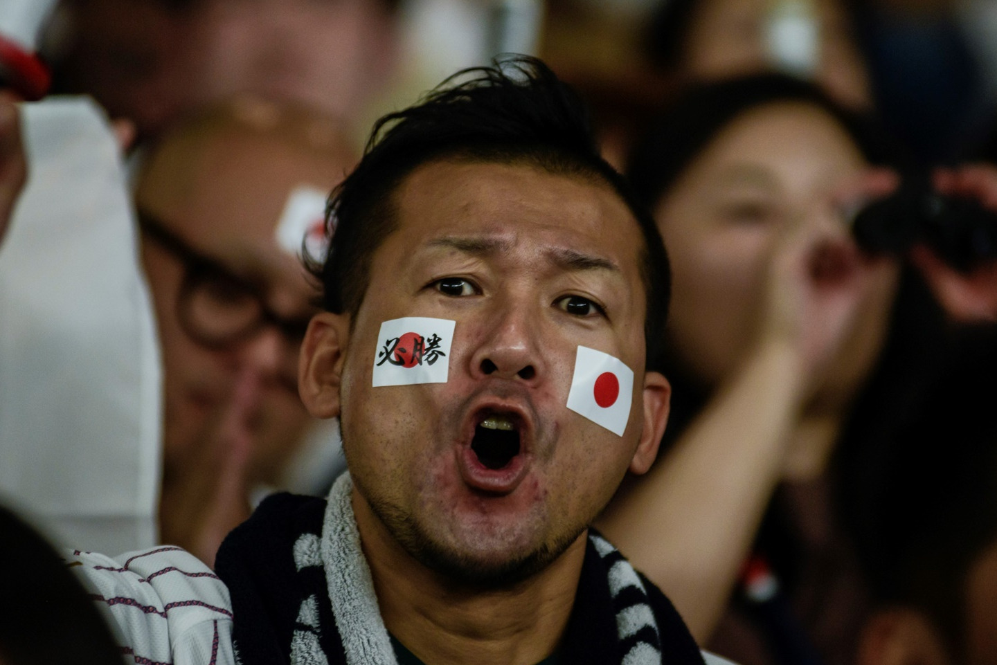 Japanese fans expressed all of their enthusiasm