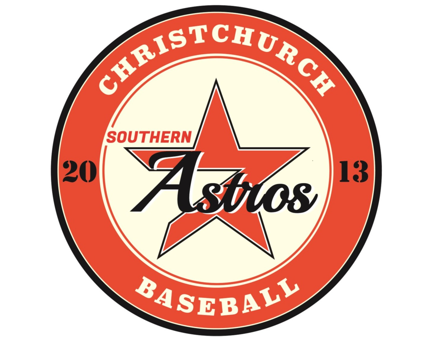 Southern Astros Orange <small>(ASO)</small> flag