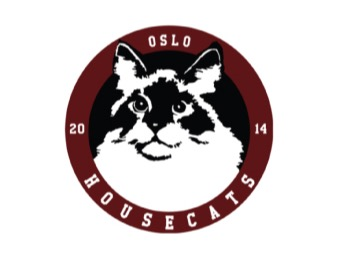 Oslo Housecats <small>(OHC)</small> flag