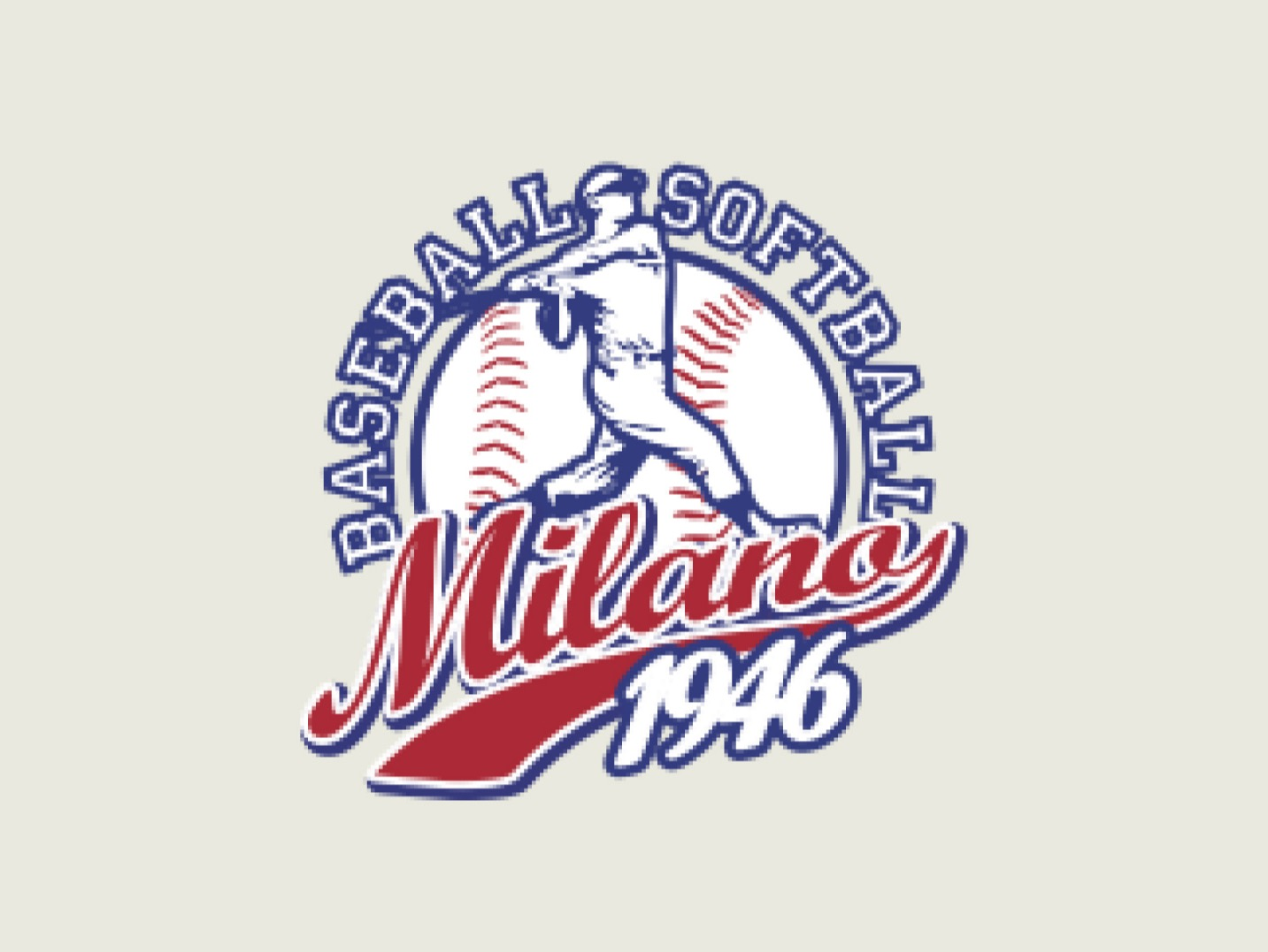 Milano Baseball 1946 A.S.D. <small>(MIL)</small> flag