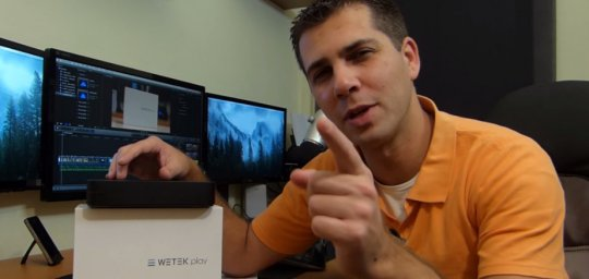 WeTek Play review by Roberto Jorge