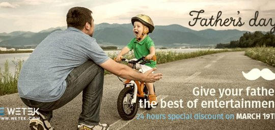 Father's day discounts