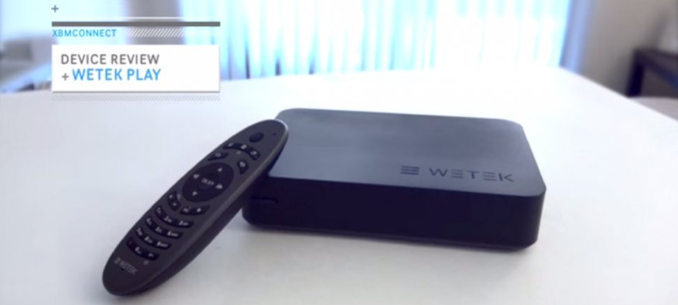 WeTek Play Review by XBMCONNECT