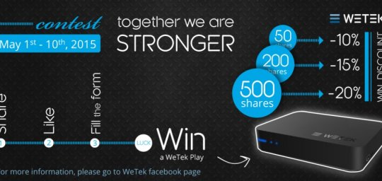 Together We Are Stronger - Facebook Contest