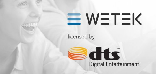 WeTek is now licensed by DTS