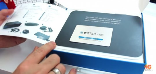 WeTek Play unboxing and review by 4Gnews