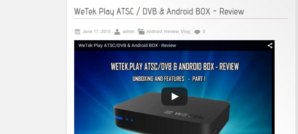 WeTek Play Review by XC Techs