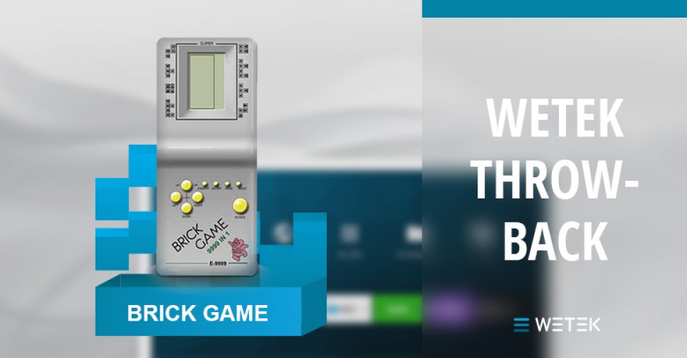 WeTek Technology Throwback - Brick Games