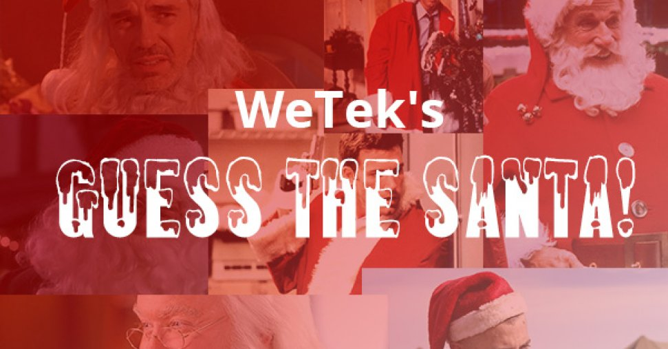 WeTek's Guess The Santa!