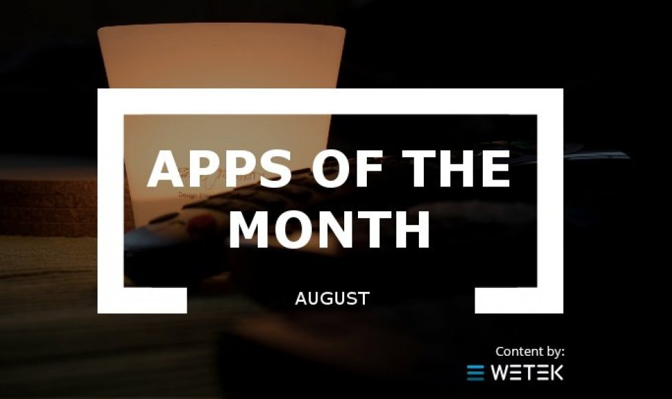 Apps of the month: August