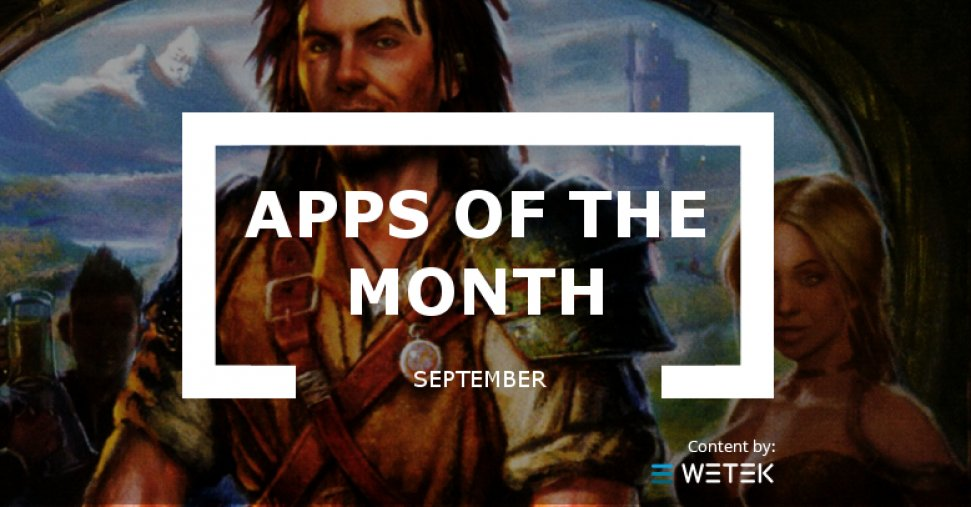 Apps of the month: September