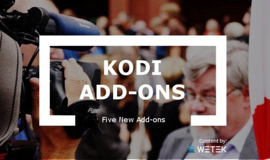 Kodi Has 5 New Add-ons