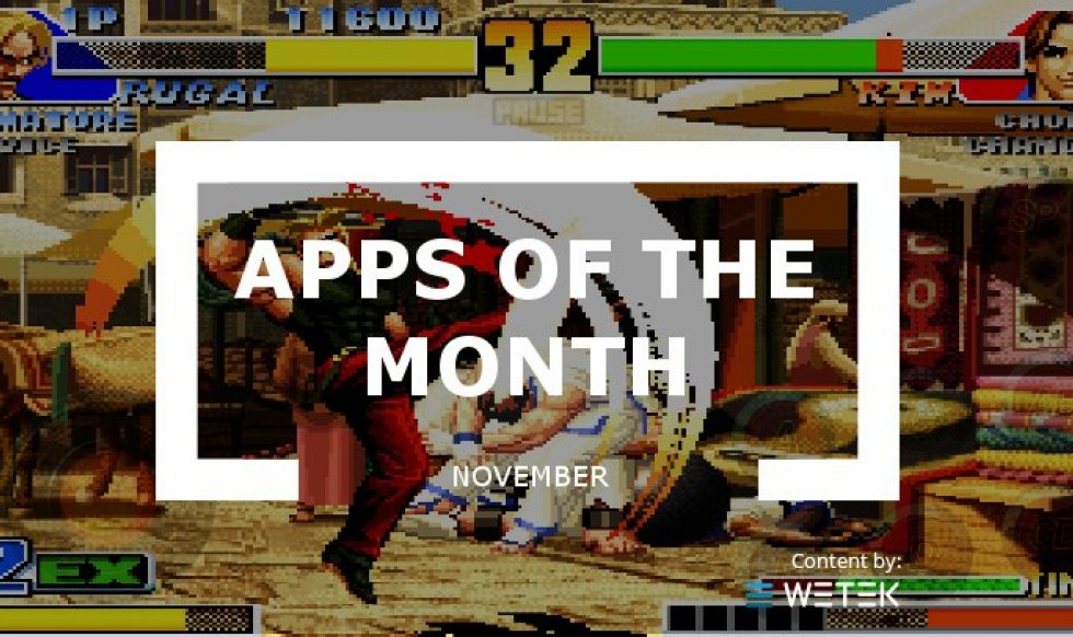Apps of the month: November