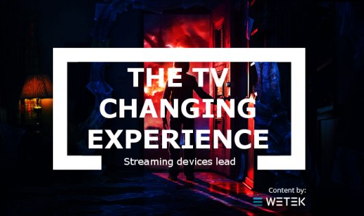 The Changing TV Experience: Streaming Devices and Smart TVs Lead The Way