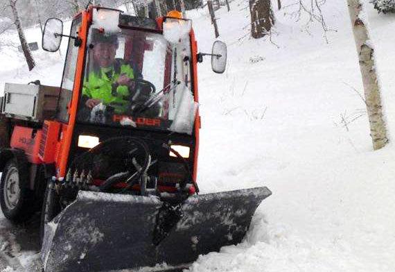 Snöröjnings- och halkbekämpning under vintern