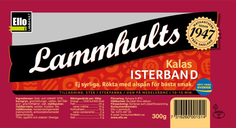 Lammhults Kalasisterband