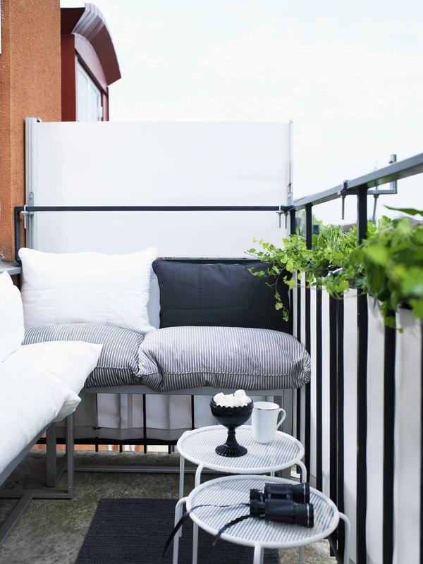 skydd för balkong