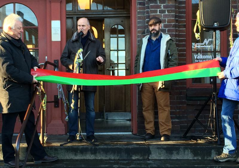 Invigning Varbergs busslinjenät