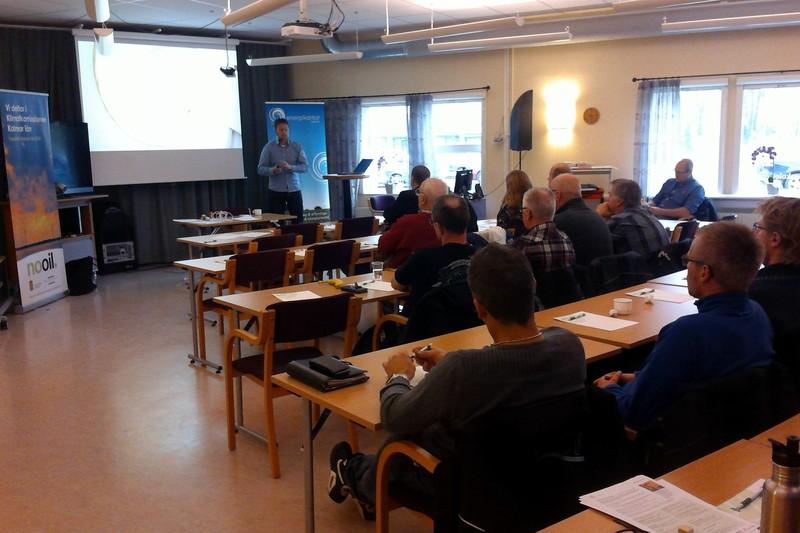 Belysning Växjö : Lyckat belysningsseminarium i hultsfred